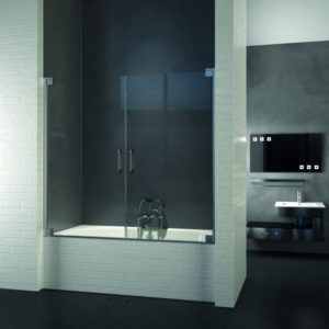 Porte doccia su misura Esbath EXF212BG
