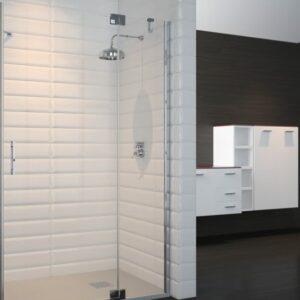 Porte doccia su misura Esbath EXF216BG
