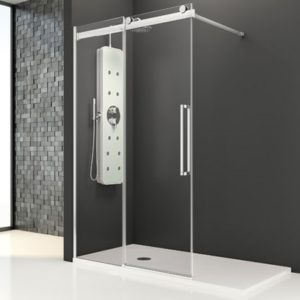 Porte doccia su misura Esbath EXS215D2