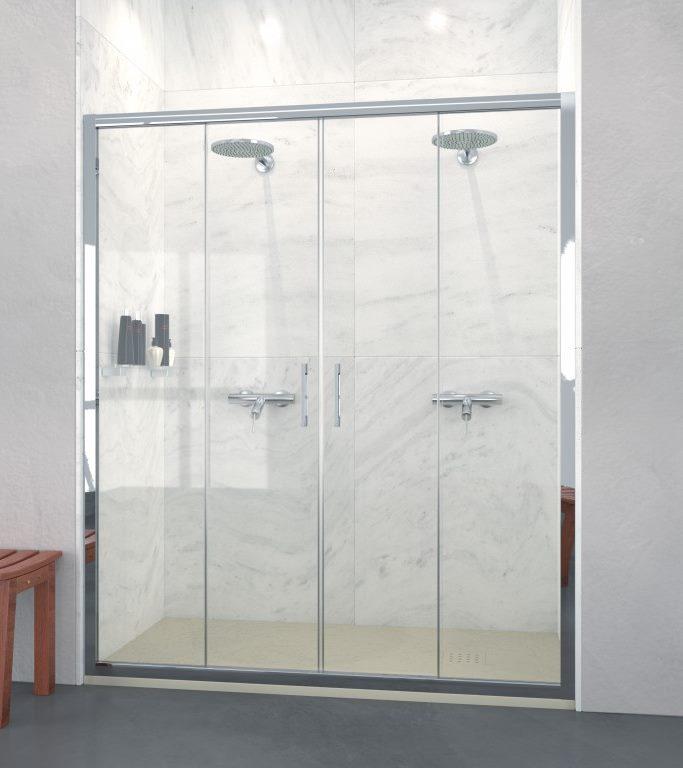 Expertbath it shawa b25 porte doccia su misura e sopravasca - Pareti doccia su misura ...